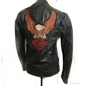REAL Harley Vintage Motorcycle Leather Jacket